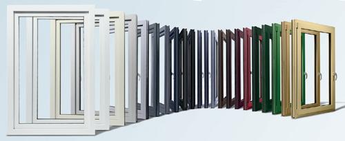 Découvrez la gamme de couleurs proCoverTec de Kömmerling pour vos châssis placés par Europortes