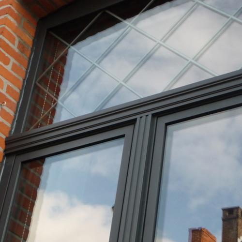 """Le design """"deco"""" de Reynaers Aluminium pour des fenêtres contemporaines vous est proposé par Europortes"""