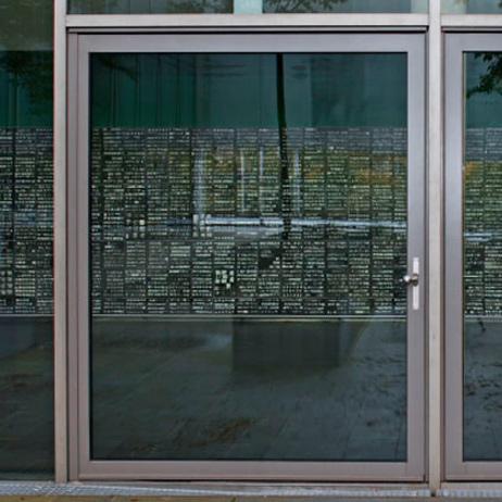 Nous vous proposons également des portes blindées entièrement vitrées - Europortes