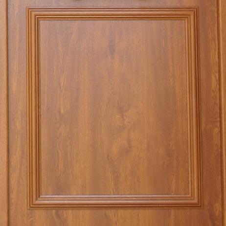 Nos portes blindées peuvent être recouverte d'un film renolit imiation bois - Europortes
